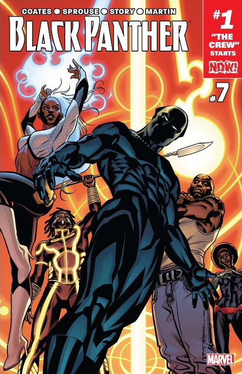 The cover of Black Panther Issue #7 reviewed down below