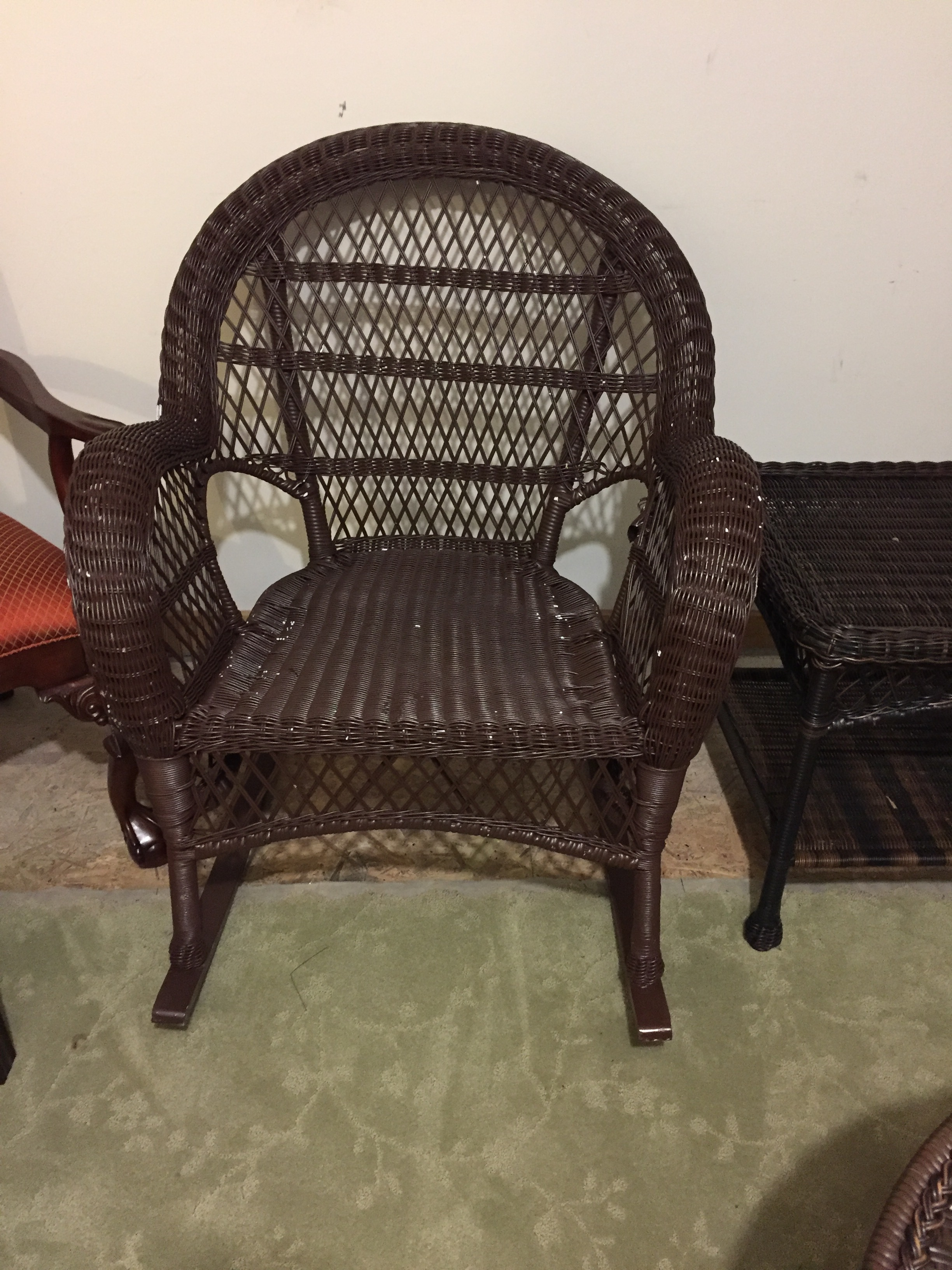 Wicker Rocking Chair Wicker Rocking Chairs
