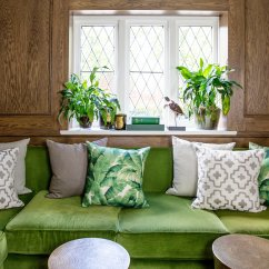 Green Cushions Living Room Theaters Portland Showtimes Three Things To Consider When Updating Your Chyka Com All I Did Achieve A Summer Look Was Add Selection Of Picking Up On The Latest Trend Indoor Greenery And Match Them In With
