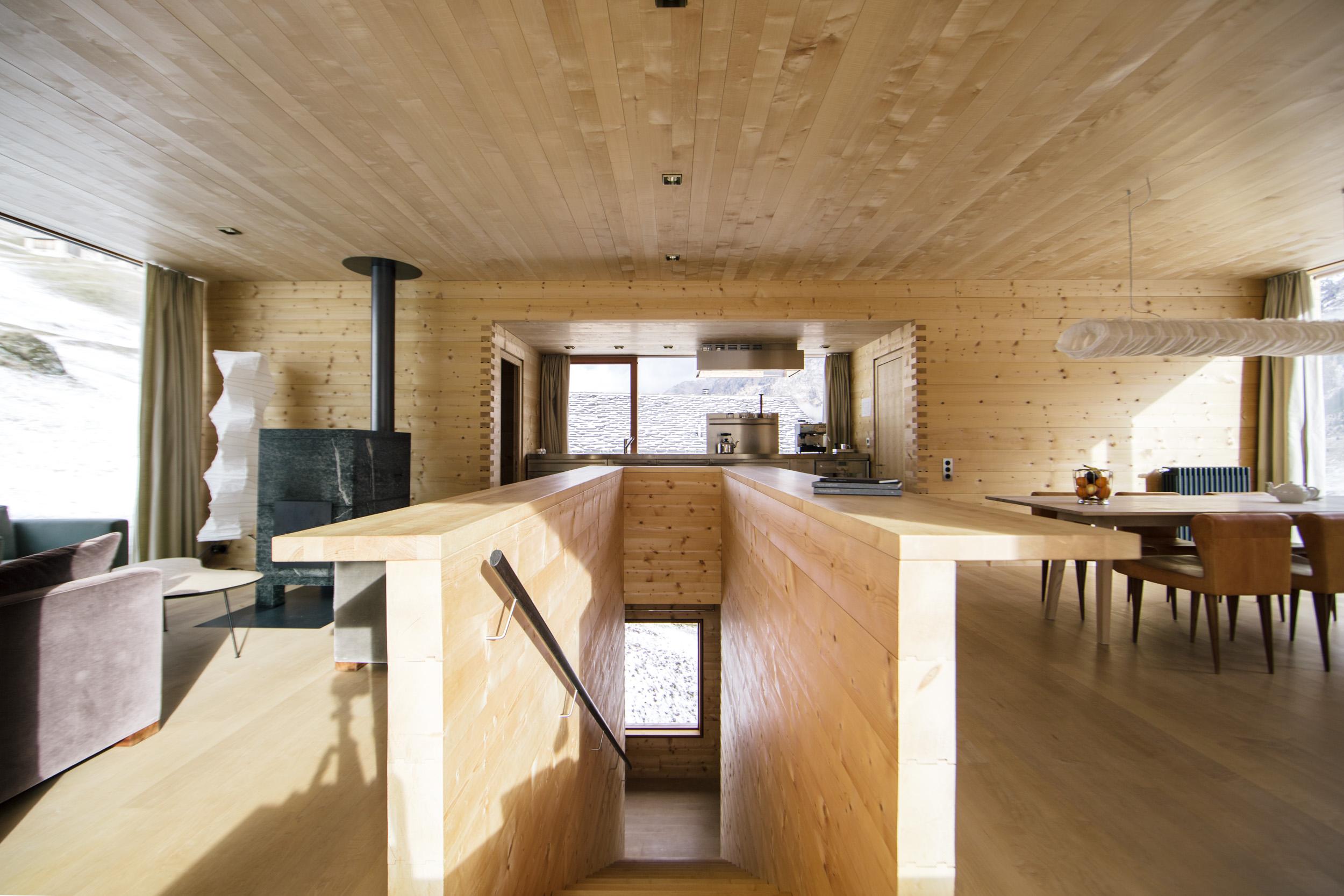 Zumthor Vacation Homes Leis Switzerland Plansmatter