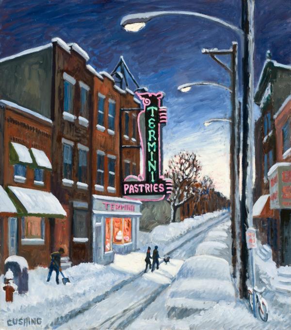 Charles Cushing Paintings Philadelphia