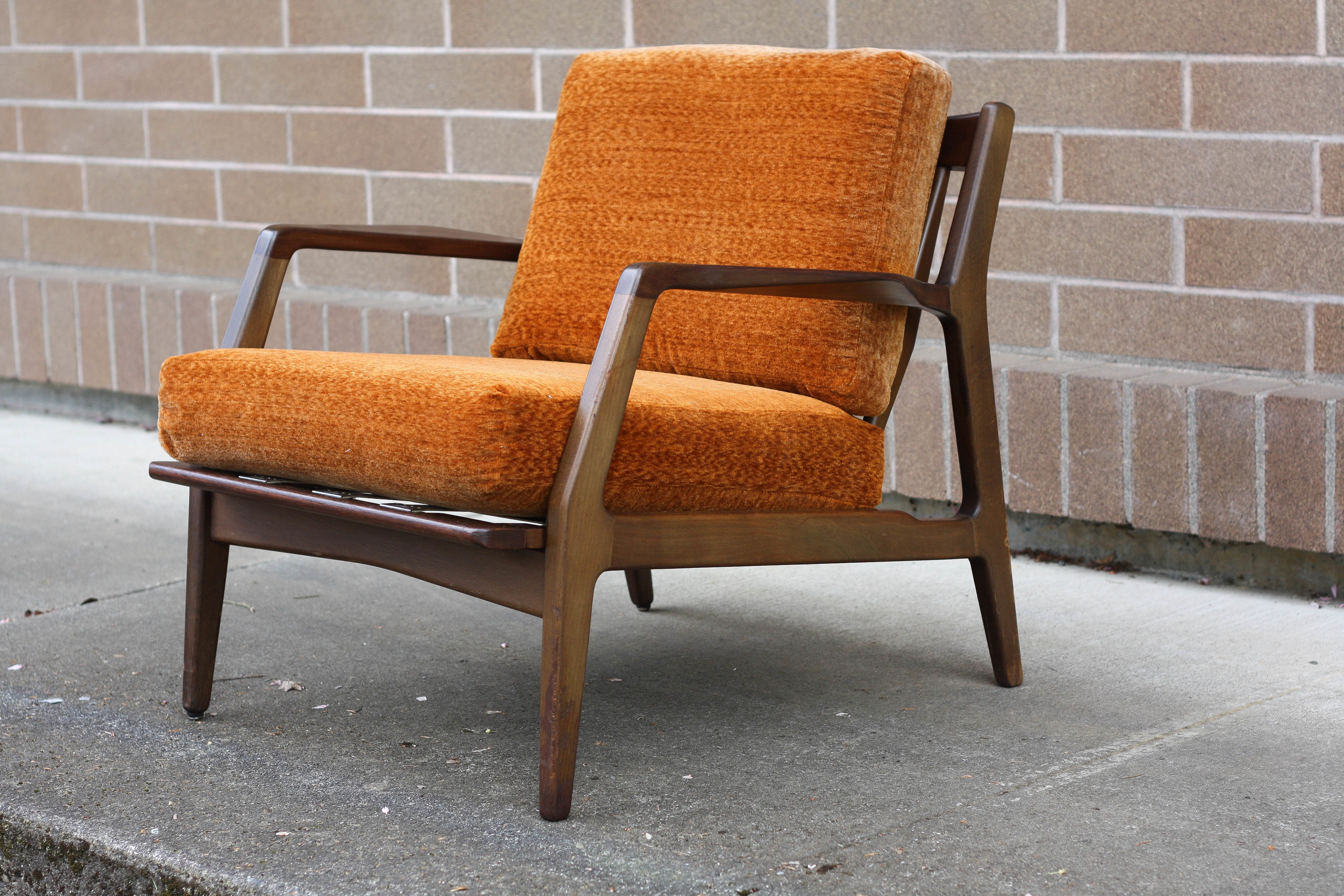 Selig Chair Ib Kofod Larsen Lounge Chair For Selig Mid And Mod