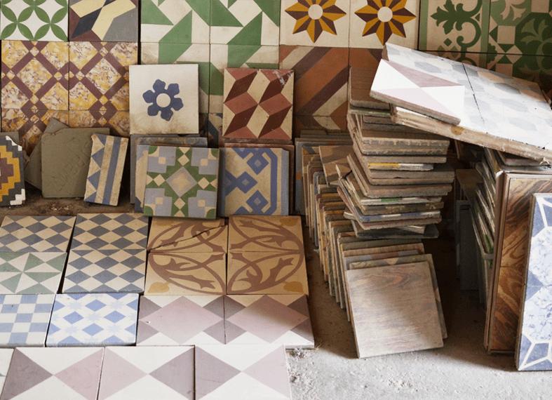 mosaicos hidrulicos a inspirao  beijaflor