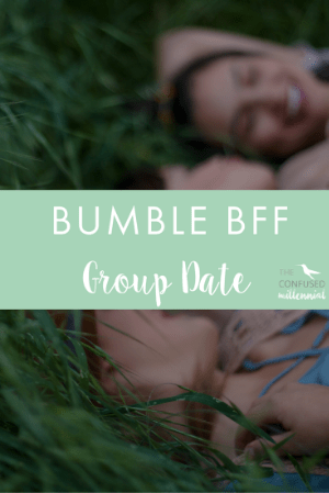 Wondering what all the hype is about Bumble BFF feature? Check out my experience on a group date! Finding friends as an adult is tough, and this app helps!