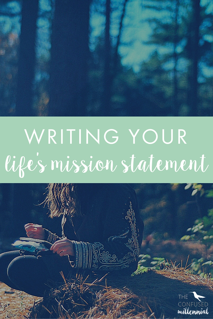 Writing your life's mission statement is so important for your success. It can help you find fulfillment and happiness quicker, it can help you write your personal statement for college or your business mission statement if you're an entrepreneur.