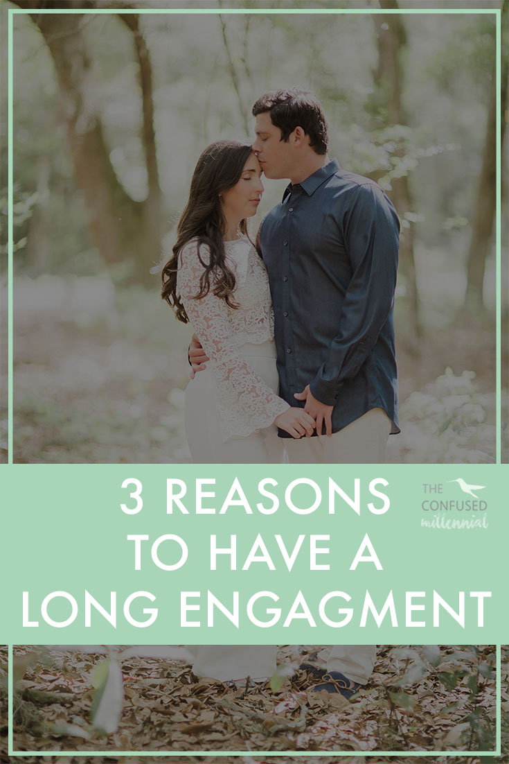 Is having a long engagement okay? Why should you have a long engagement? What are the pros and cons of a long engagement? The Confused Millennial, Rachel Ritlop, shares three reasons to have a long engagement.