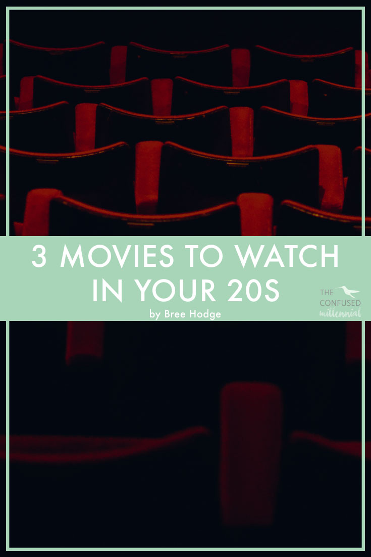 Feeling like you're on the verge of a quarter life crisis? Want some clarity and inspiration on the meaning of life and other life lessons in your twenties? Check out these three movies for clarity, hope, and motivation in navigating your third decade. - The Confused Millennial