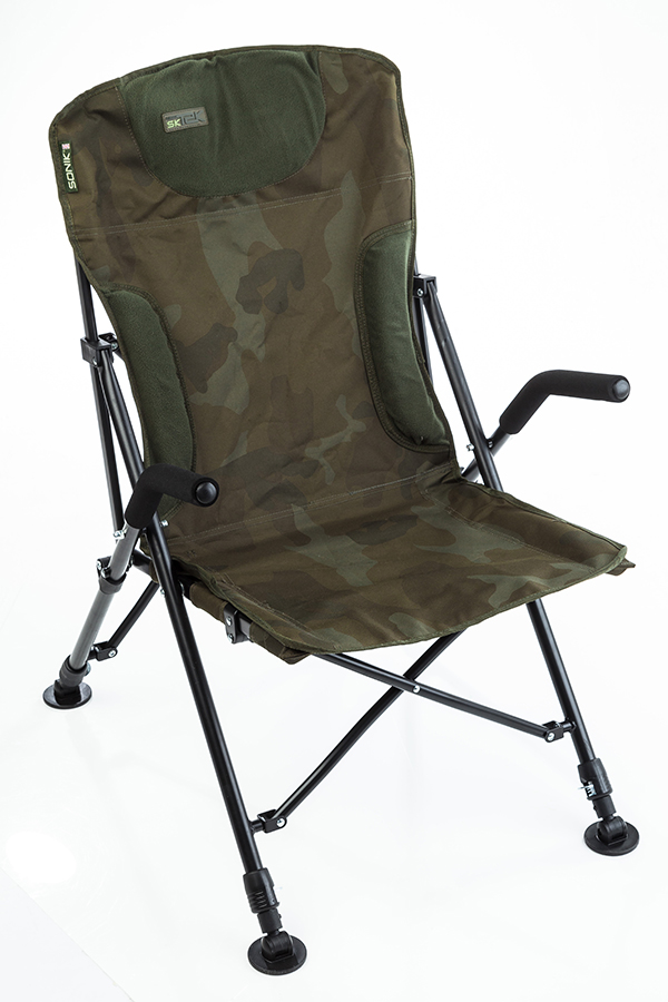 fishing chair for bad back grey floral covers buyer s guide to chairs angling times the folding design of this sonik means it can be set up and packed away in seconds is compact when transit