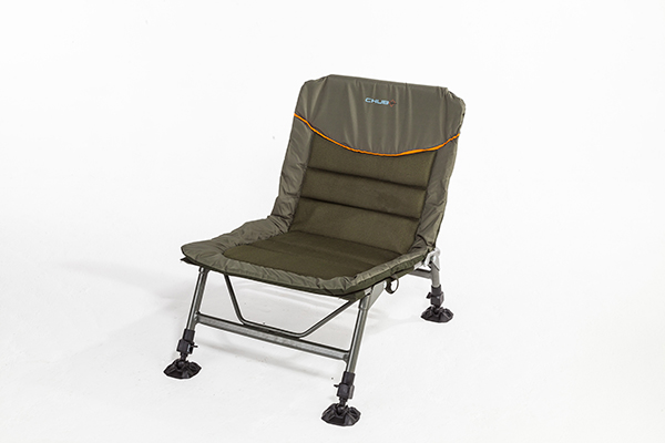 fishing chair for bad back swivel que significa buyer s guide to chairs angling times chub new features a brilliantly simple system which extends the backrest of added comfort but packs away compactly front and