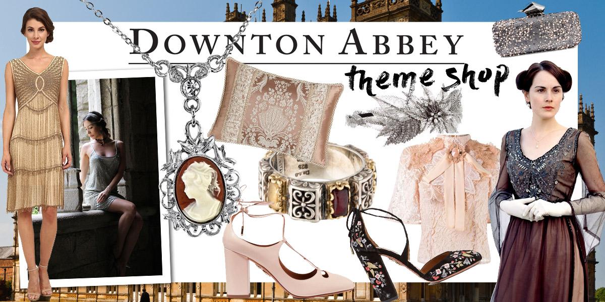 Week 15 Downton Abbey Theme Shop Pastichetoday