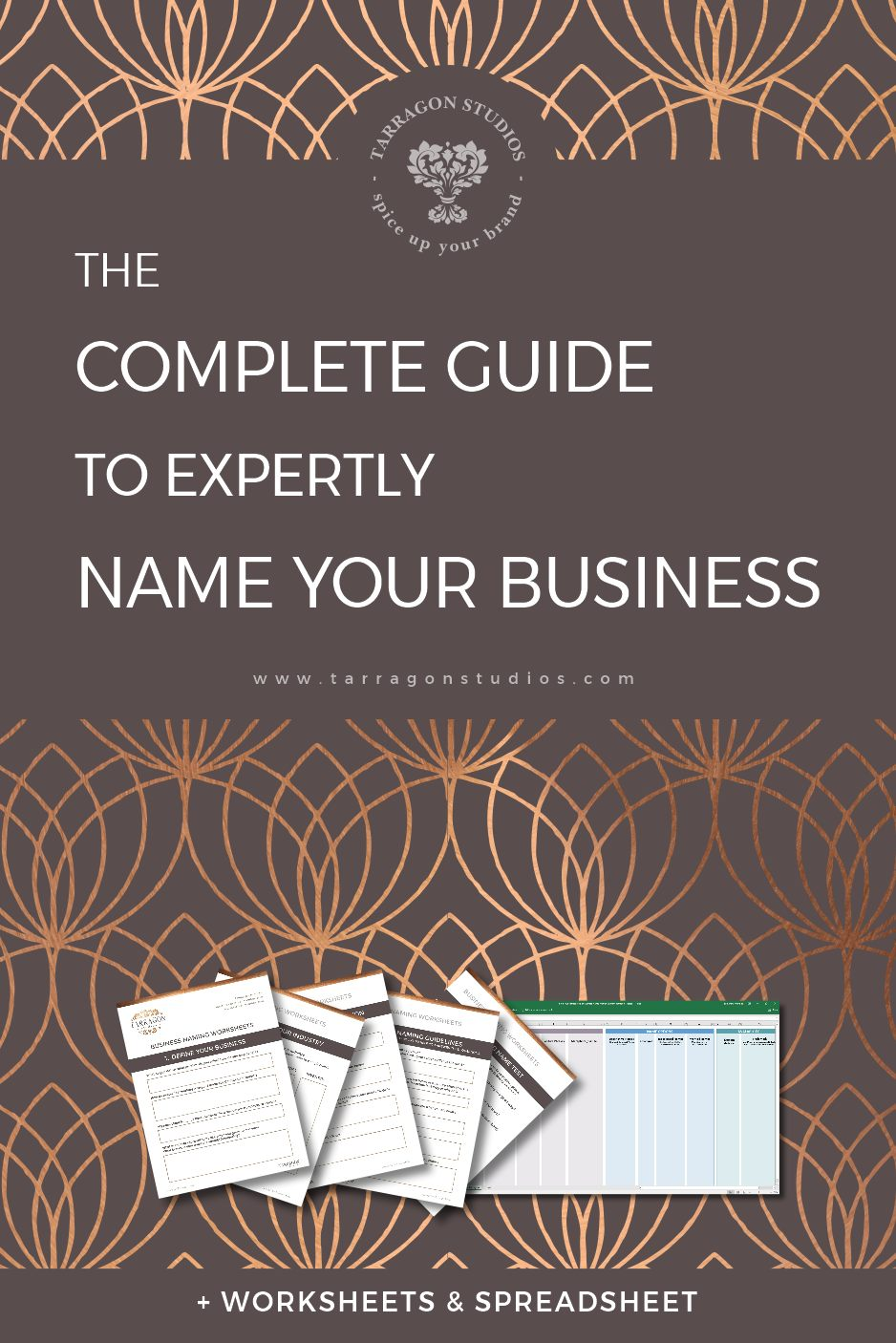 The Complete Guide to Expertly Name Your Business + Worksheets ...
