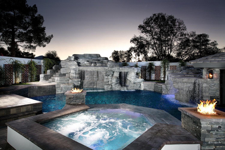 Build a Custom Spa in Arizona  Presidential Pools Spas  Patio of Arizona