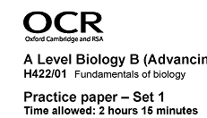 Answer A-level Biology Questions Better — A-level Biology