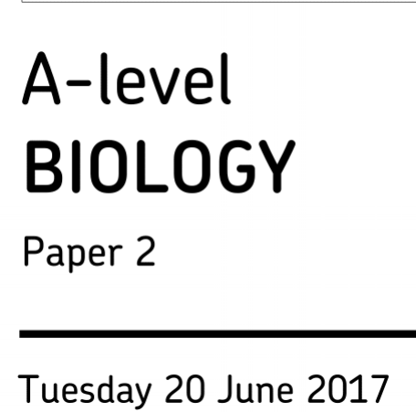 Answer A-level Biology Questions Better — Online A-level