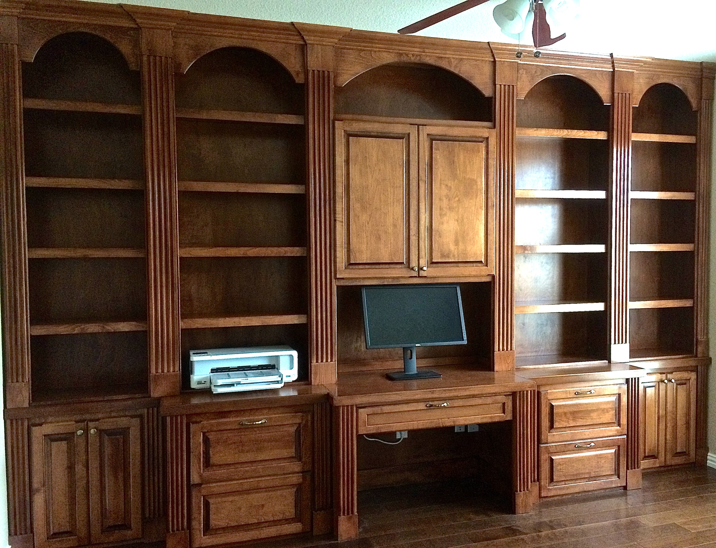 Home Offices  Wood Gem Custom Cabinets