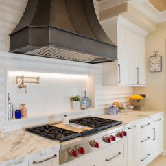 How To Design A Kitchen Summit Kitchens High Style Luxury Detailing For End Remodel The Backsplash Looks Like Subway Until You Look Closer It Is Actually 3d Concave Tile That