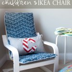 How To Slipcover A Childrens Ikea Poang Chair Interiors By Sarah Langtry