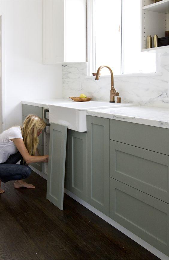 kitchen on a budget grey blinds how to get designer melanie lissack interiors photo credit remodelista