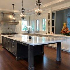 Kitchen Chandeliers Corner Upper Cabinet And Pendants Laura Lee Designs Acrylic Island Pic 2 Jpg
