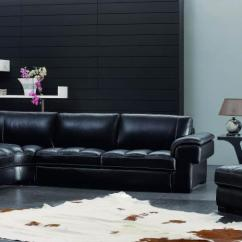 Modern Living Room Ideas With Black Leather Sofa Good Colors Feng Shui How To Care For Furniture Color Glo International