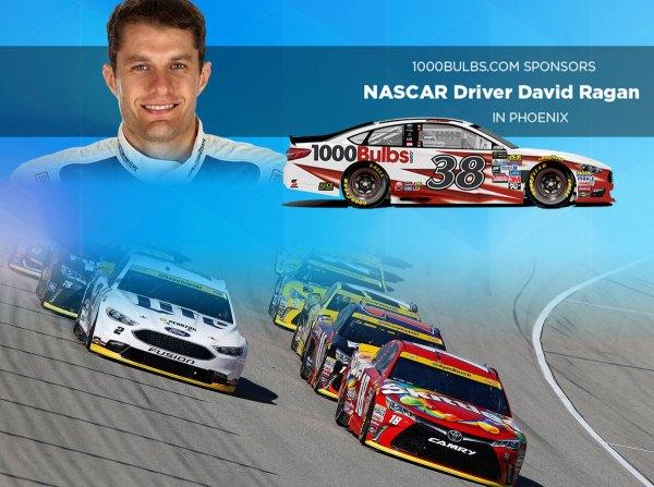 Sponsor Nascar Driver David Ragan In Phoenix