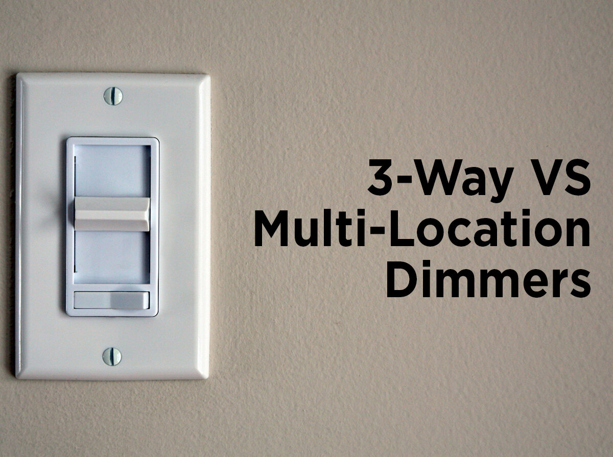More Than Three Locations To Control Light Fixtures Utilizes 3way