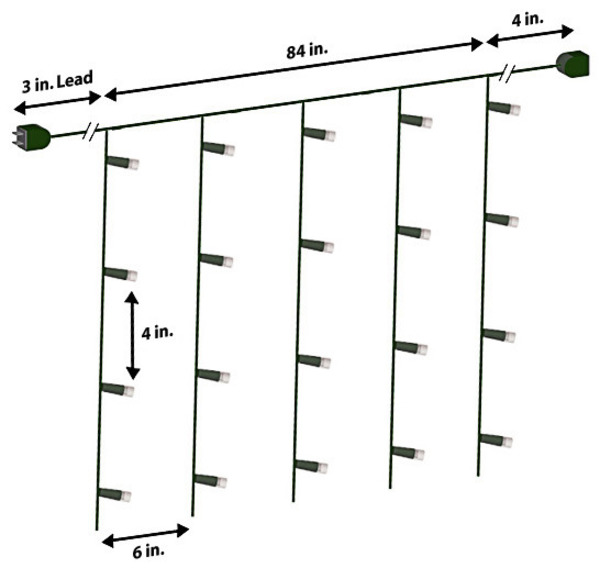 christmas icicle light wiring diagram