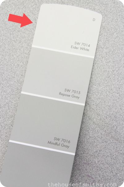 I used these three colors throughout my entire house in Denver. I added some bolder colors in the bathrooms.