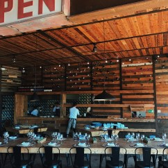 Two Seat Kitchen Table Wooden Trash Bin For Fauna Restaurante: Valle De Guadalupe's New Regional Gem ...