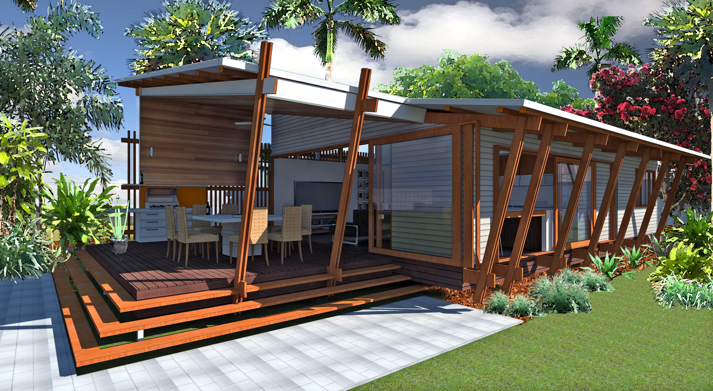 Baahouse 3d Gallery Baahouse Granny Flats Tiny House