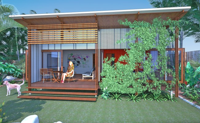 Backyard Pavilion Queensland Baahouse Granny Flats