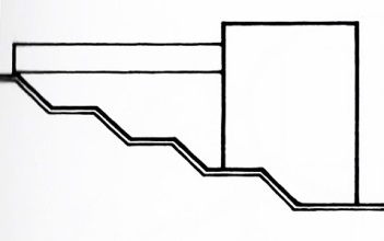 architecture section diagram john deere wiring stx38 analyzing through diagrams ccc concept bianchi residence by mario botta from precedents in