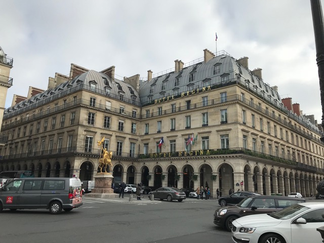 Paris And The Hotel Regina Gracious Warm Luxurious With A
