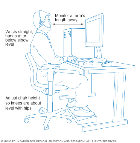 office chair posture tips seat covers black minnie tang top 7 ergonomic ergonomics physio