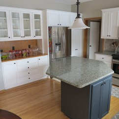 Kitchen Paints Custom Kitchens Cabinet Painting Elite Finisher Inc Cabinets Went From Stained Oak To Painted White 4 Jpg