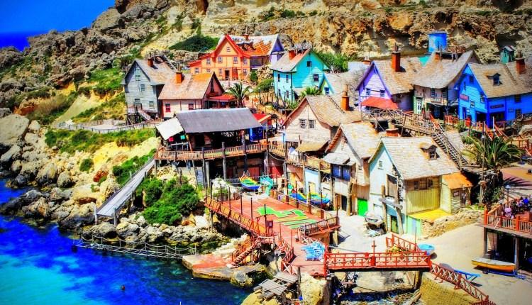 Destinasi wisata untuk penggemar film: desa Gozo, Malta.