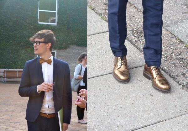 Patriks fina kostym är ifrån Emilio och den valde han att matcha med sina guldskor ifrån Marc Jacobs. Gissa om jag är avundsjuk på de skorna!?