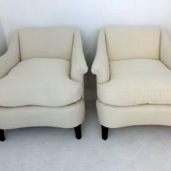 White Club Chairs Visitor Chair Design Owen Swift Pair 950
