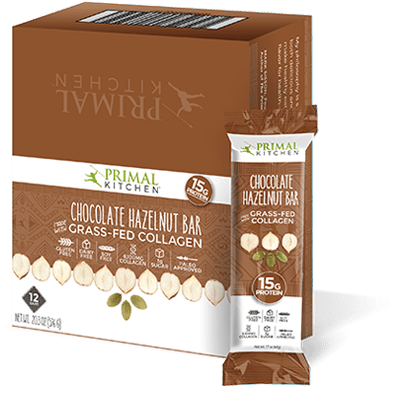primal kitchen bars appliances almost 30 podcast chocolate hazelnut collagen protein