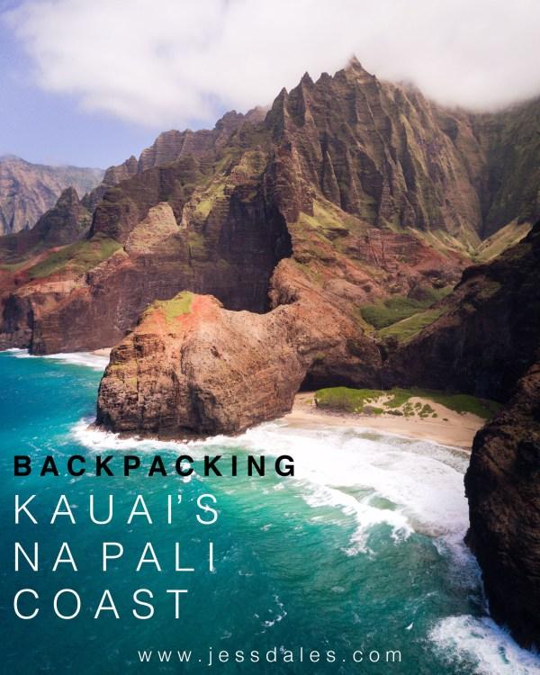Jess Wandering Kalalau Trail - Beach &