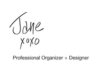Jane Organizes: The Magical Marie Kondo Way