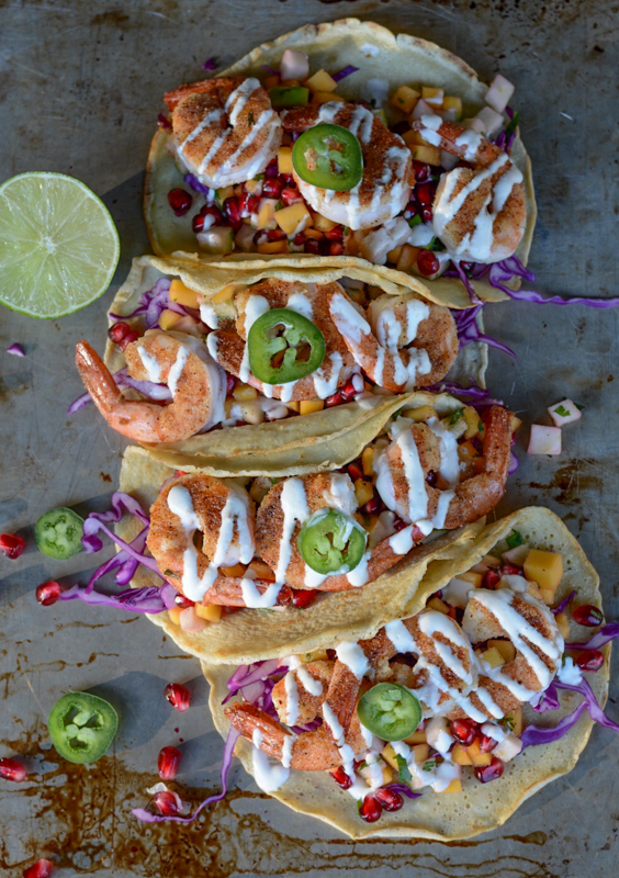 Paleo Shrimp Tacos