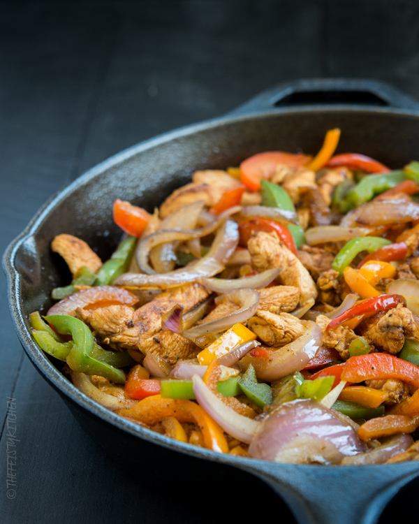 chicken-fajita-skillet