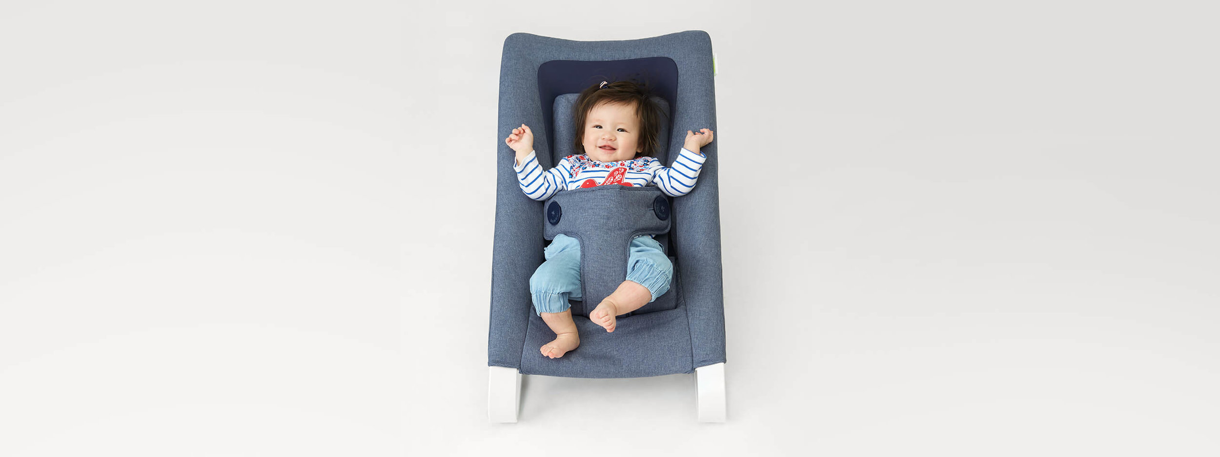 baby bamboo chair folding width studio gooris product design bouncer for bombol story newborn kit nbk with kid jpg