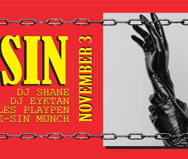 Sin Darkness Decadence Nov 3 One Extra Hour