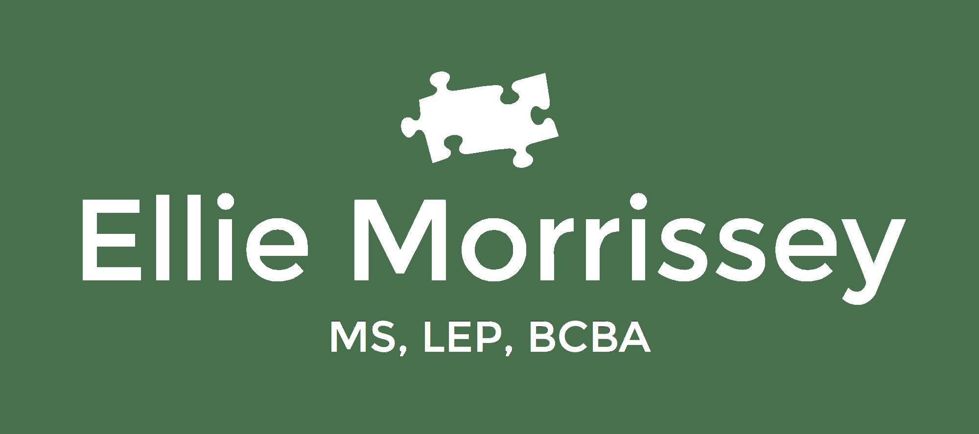 Functional Behavior Assessment (FBA) — Ellie Morrissey, MS, LEP, BCBA