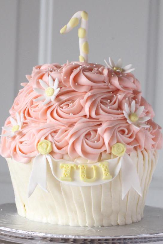 Giant Cupcake Cake  Starbird Bakehouse