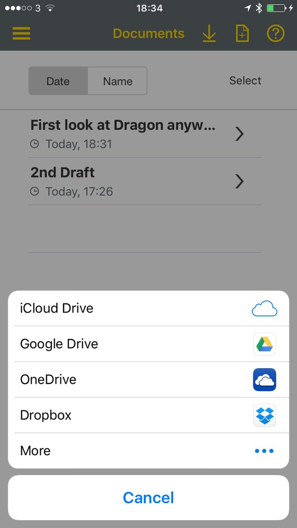 Dragon Anywhere On line Documents Dragon Anywhere for iOS Review