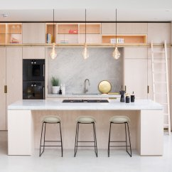Kitchen Ladder Concrete Sink Residential Cook Shape London The