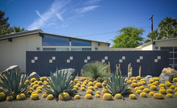 desert-inspired mid-century modern